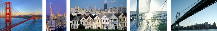 Header images for San Francisco